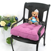 爱优活 加高加厚榻榻米坐垫 实木大沙发垫韩式飘窗垫 欧式铁艺餐椅垫55*56