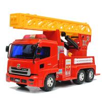 工程车儿童玩具车3-6周岁男孩子大号消防车 云梯车救援车