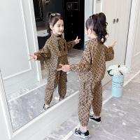 女童秋冬装套装童装休闲儿童加绒两件套