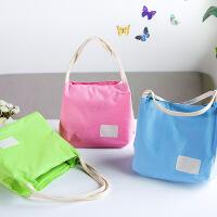 拉链儿童学生饭盒袋防水饭盒包手提包保温袋妈咪包便当包女袋