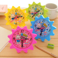 银河星太阳花钟点学习器 儿童早教益智教具 钟面钟表模型认识时间