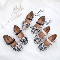 女童公主鞋儿童皮鞋防滑软底女童单鞋英伦演出鞋