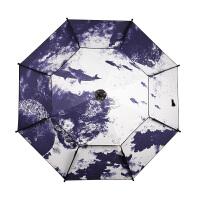 钓鱼伞 2.2米2.4米防晒垂钓双层万向折叠加厚伞户外渔具
