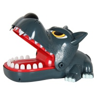 抖音同款按牙齿咬人鲨鱼玩具咬手指鳄鱼整人搞怪整蛊创意儿童 如图描述