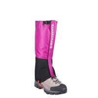 男女户外登山防水雪套 儿童滑雪护腿套 沙漠防沙脚套轻量鞋套