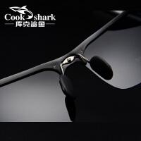 男士太阳镜墨镜开车司机眼睛偏光驾驶夜视眼镜