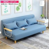 沙发床可折叠客厅单人双人午休床简易懒人折叠床小户型躺椅 支持 批发