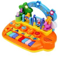 婴儿电子琴女孩迷你钢琴可弹奏0儿童益智早教宝宝玩具琴1-2周岁3