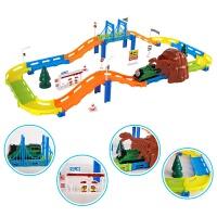 维莱 派艺托马斯小火车轨道车 多层组合竞速赛车套装热卖儿童玩具