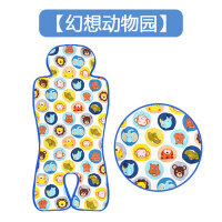 韩国进口现货 jellypop 宝宝推车凉席安全座椅凉垫冰垫凉坐垫 动物头像 国内现货 其它