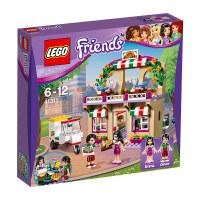 儿童节礼物益智玩具LEGO乐高 好朋友系列心湖城友情俱乐部艺术咖啡馆女孩积木玩具 男孩女孩
