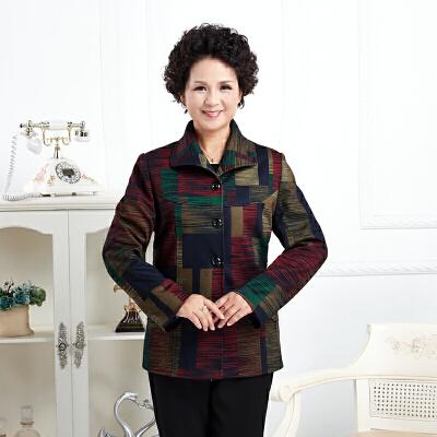 2018春秋妈妈装外套女老年人大码中老年外套上衣40-50-60岁奶奶装 发货周期:一般在付款后2-90天左右发货,具体发货时间请以与客服协商的时间为准
