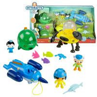 【当当自营】费雪海底小纵队超级舰队组合装CHJ04三合一套装儿童过家家玩具