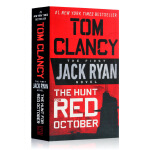 The Hunt for Red October Tom Clancy 猎杀红十月号 英文原版小说 汤姆克兰西杰克瑞安