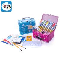 儿童手指画颜料水洗宝宝水彩涂鸦玩具男孩女孩绘画工具套装
