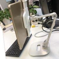 平板支架 手机托架ipad电脑桌面懒人床头上支撑夹子直播主播通用型快手折叠升降懒人多功能surfac