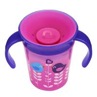 【当当自营】满趣健(munchkin)6盎司360°印花防漏洒带柄魔术杯 儿童学饮杯水杯