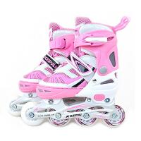 Kepai科牌 单闪轮滑鞋 F1-S6 溜冰旱冰鞋 直排可调 铝支架
