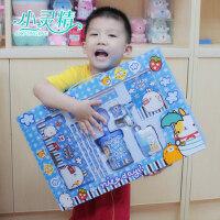 小灵精小学生学习用品*盒文具套装幼儿园学校奖品文具套装礼品
