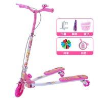 宝宝滑滑车三轮摇摆剪刀车划板车踏板车儿童蛙式滑板车4-5-6-12岁