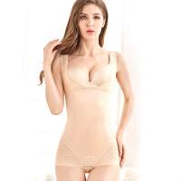 无痕加强版收腹束腰塑身美体衣服塑形产后减肚子款女