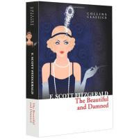 正版现货 美丽与毁灭 全英文版原版小说 The Beautiful and Damned 英文原版小说进口英语书籍