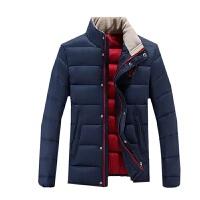 新款男士冬季羽绒服 轻薄时尚休闲运动羽绒外套 保暖 透气 防风 轻薄 修身羽绒服
