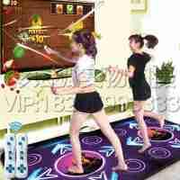 2016体感双人中文高清电视电脑两用加厚手舞足蹈跳舞毯家居休闲运动游戏休闲跳舞毯