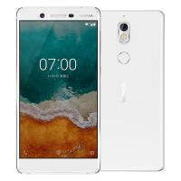 【送豪华礼包】诺基亚7 移动联通电信全网通4G手机 八核 5.2英寸 双卡双待 (4G运存+64G内存)白色