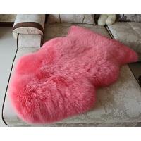 澳洲纯羊毛沙发垫飘窗垫床前客厅卧室地垫地毯椅垫坐垫毯皮型定做 皇冠2.5P 255*75