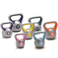 女士提壶哑铃 男士健身房彩色浸塑壶铃杠铃多规格 更多