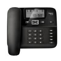 集怡嘉Gigaset原西门子DA260电话机座机(黑名单功能/来电显示/双接口/)办公电话 家用有绳固定电话免电池 (