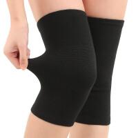 护膝保暖薄款男女士老寒腿老人膝盖超薄竹炭四季运动空调房春夏季