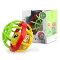 婴幼儿玩具 手摇铃玩具幼儿牙胶磨牙棒宝宝儿童礼盒装生日礼物 0081软胶健身球