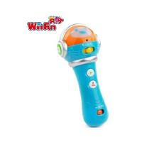 英纷 神奇麦克风录音话筒2339 1-3岁宝宝音乐模仿教学益智玩具