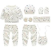 初生儿0-3个月初生婴儿内衣套装宝宝和尚服礼盒套装
