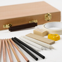 儿童画画套装素描铅笔2B/4B/6B/8B/HB/2H美术文具绘画学习用品