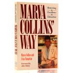 马文柯林斯的教育方法 Marva Collins' Way:Updated 英文原版英文版亲子育儿书籍 马文科林斯 进
