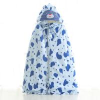 婴儿披风斗篷秋冬季款新生幼儿童宝宝男女外出服披肩外套保暖
