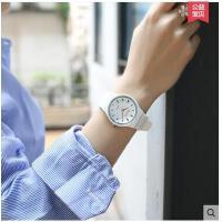 高中学生手表女款韩版时尚学生手表白色手表女学生初中生防水支持礼品卡支付