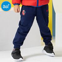 【1件5折到手价:89.5】361度男童装男童针织加厚长裤冬季新品 N51844565