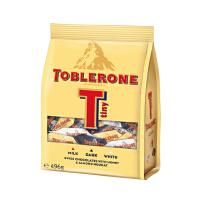 [当当自营] 瑞士进口 Toblerone 瑞士三角牛奶/黑/白巧克力分享装 496G