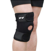 户外运动羽毛球篮球登山护膝 弹簧支撑加压透气跑步运动护