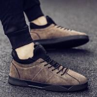 男板鞋男士鞋子冬季帆布鞋男鞋冬季鞋子男韩版潮流高帮鞋男棉鞋男