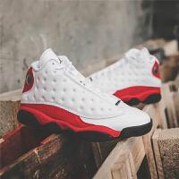 【网易考拉】Air Jordan13 ChicagoAJ13 芝加哥 白红色男子篮球鞋 414571-122