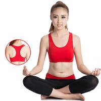 瑜伽服两件套女运动背心七分裤舞蹈跑步跳操训练健身服夏