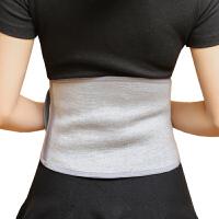 护腰带四季保暖钢板弹力护腰带护腰椎健身腰托超薄透气运动护腰 浅灰色 竹炭护腰 送护膝