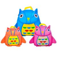 小学生儿童包包幼儿园双肩背包男女童猫头鹰1-3-6岁年级宝宝书包