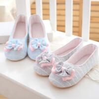 月子鞋春夏孕妇包跟防滑夏季产后秋冬季产妇春秋薄款软底室内拖鞋