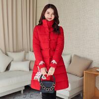 【极速发货 超低价格】棉服女中长款2020年新款秋冬季韩版宽松中国风棉袄加厚棉衣外套潮